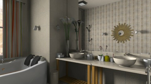 classe - Classic - Bathroom  - by Hanane Haidoune