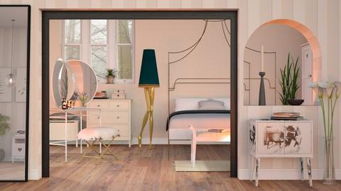 Modern Playful Bedroom - Eclectic - Bedroom - by Sally Simpson