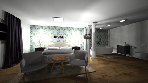l - Modern - Bedroom  - by Zanri