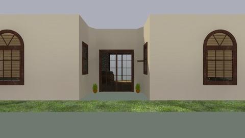 my future house  - Country - by Jennifer De la cruz