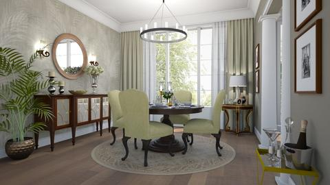 Classic dining room - Classic - Dining room  - by Valkhan