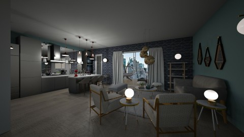 Open concept Kitchen  - by vickymarinello