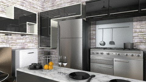 My kitchen - Modern - Kitchen  - by blondina14