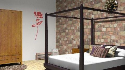 Master Bedroom - Glamour - Bedroom  - by Ellie12