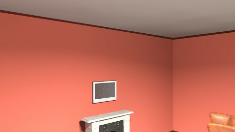 Vanderbilt-fireplace - Vintage - Bedroom  - by kimnstone