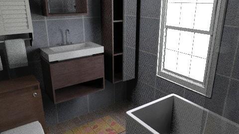 flat 4 - Glamour - Bathroom  - by sally89