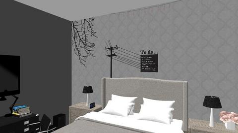 My room - Modern - Bedroom  - by Andreea22Tina