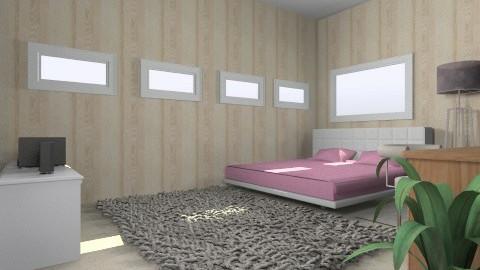 my bedroom - Vintage - Bedroom - by deLouisyane