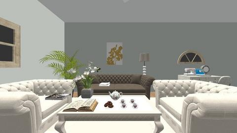 Book Club - Classic - Living room - by 9300276