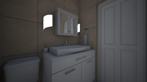 Chicago Apt Bathroom 3 - Bathroom  - by SammyJPili