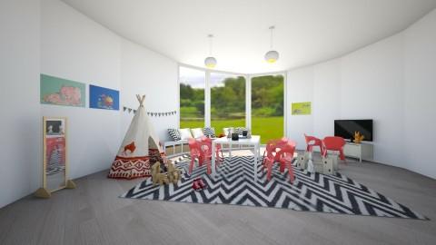 Playroom - Modern - Kids room  - by artist4568