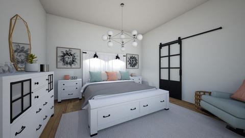 Girls Room 1 - Bedroom  - by Lexidesign