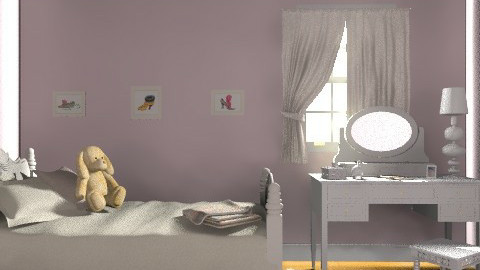 princess bedroom - Feminine - Bedroom - by muffinswithfrosting