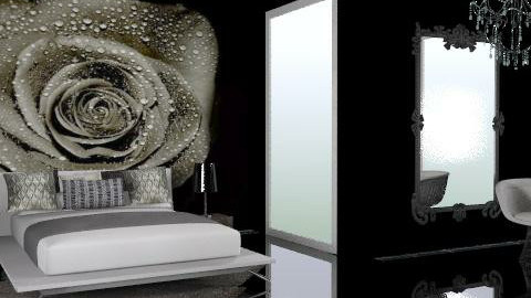 black rose - Eclectic - Bedroom  - by chania