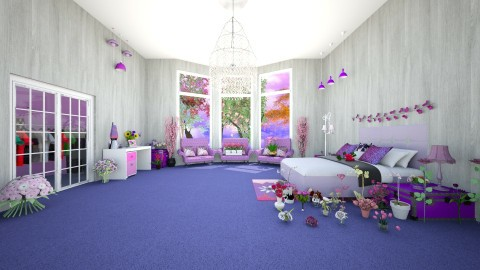 Wonder House - Glamour - Bedroom - by Anell Nunez