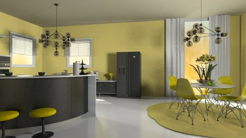mykitchen - Modern - Kitchen  - by Anchy0712