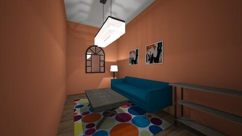 straight line - Living room - by gabagail45