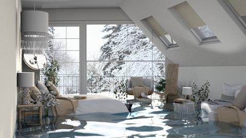 Flooded Aspen - Bedroom  - by itsbinflooded