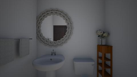 Half Bath  - Bathroom - by brianathedesigner
