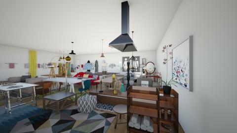 myhome - Living room  - by Dibiduu