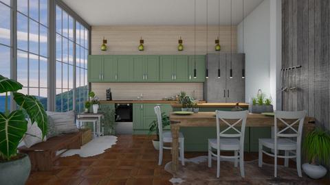 Scandinavian Kitchen - Kitchen  - by Dragonets of Destiny