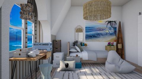 Beachcombers bedroom - Bedroom  - by augustmoon