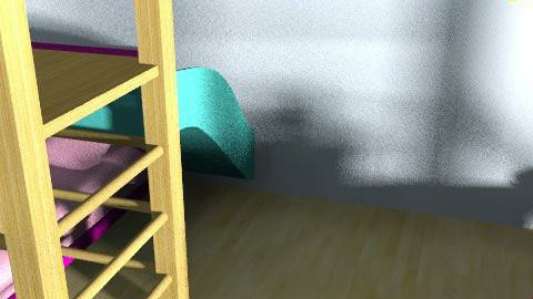 extreme makeover - Retro - Bedroom  - by pineappleexpress