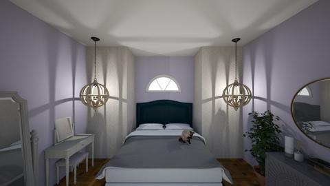 lavender bedroom - Bedroom  - by Marincummings