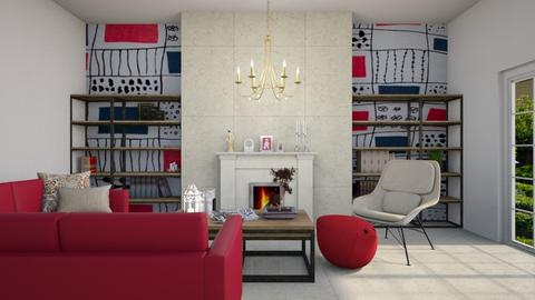 Tribute to Conran - Living room  - by Ashen_Swan