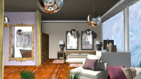 chambre de reve - Eclectic - Bedroom  - by calu13