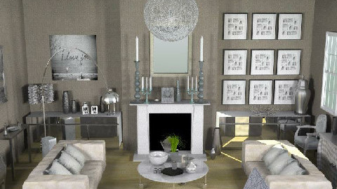 SmokeAndMirrors - Glamour - Living room  - by camilla_saurus