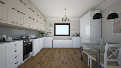 kitchen9 - Glamour - Kitchen  - by Alicja Habram