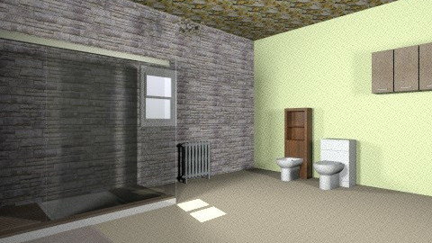 ceiling center stage - Glamour - Bathroom  - by mimiB