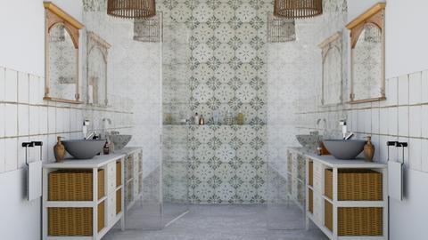 Anime gemelle - Bathroom  - by Charipis home