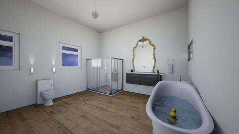 My Modern Bathroom - Modern - Bathroom  - by xxxItsDesignerGirl