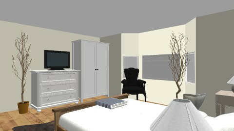 Oliver Scargill - Rustic - Bedroom  - by olpacino