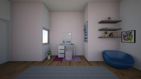 bedroom - by roneee