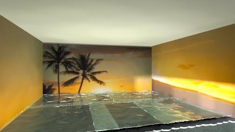 Beach House Pool - by batha2001