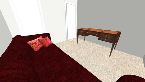 Study - Bedroom  - by brittanydelozier