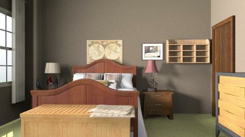 Mum Bedroom - Minimal - Bedroom - by PennyDreadful
