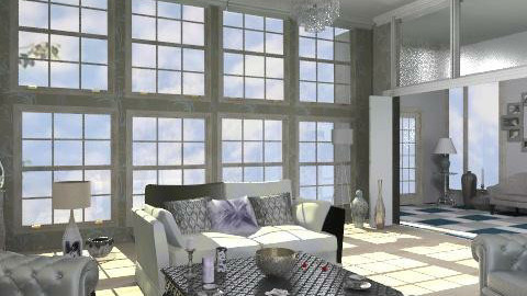 Silver - Eclectic - Living room  - by milyca8