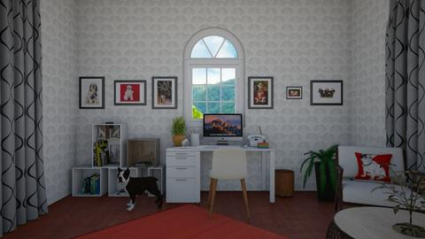 Dog Office - Minimal - Office  - by deleted_1583724901_Puppystyler