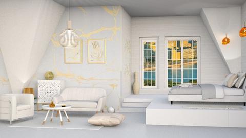 cozy corner  - Bedroom  - by Moonpearl