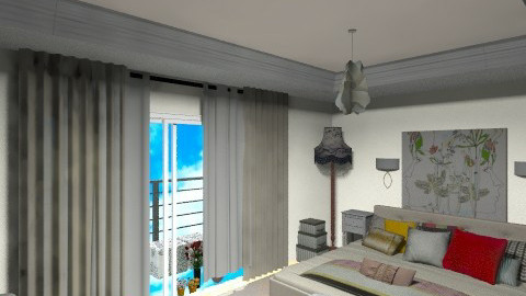 master bedroomsssssssssss - Vintage - Bedroom  - by bellabravis