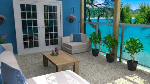 balcony - Modern - Garden - by Cejovic Andrijana
