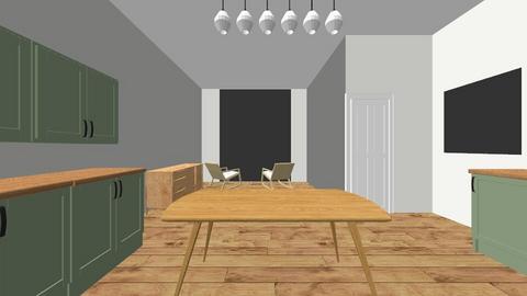 Kitchen 1 - Kitchen  - by stephilo90
