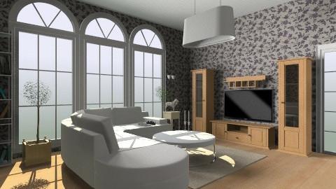 first room  - Modern - Living room - by SkerdiSeseri
