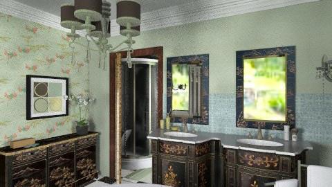 Guest wing_bathroom - Bathroom  - by auntiehelen