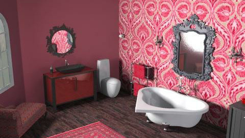 I LOVE Bathroom - Glamour - Bathroom  - by vmanship