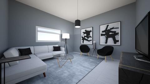 modern living room - Modern - Living room  - by nelsonzl